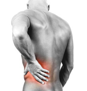 Muscular back pain acupuncture